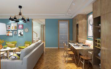 120平米复式北欧风格餐厅装修案例