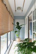 140平米四室两厅美式风格阳台设计图