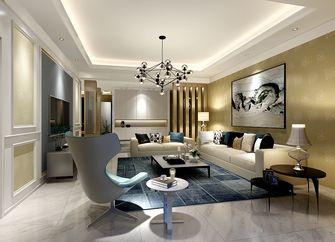 100平米新古典风格客厅图