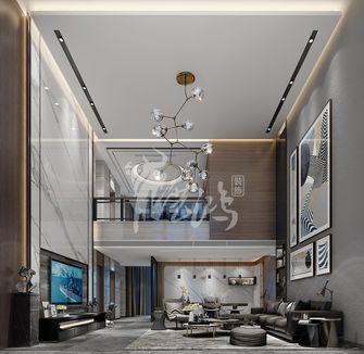 富裕型140平米别墅其他风格客厅装修案例