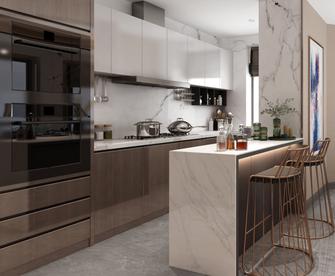 140平米四现代简约风格厨房设计图