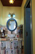 100平米三室三厅地中海风格卫生间装修图片大全