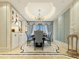 120平米三室两厅欧式风格餐厅装修效果图