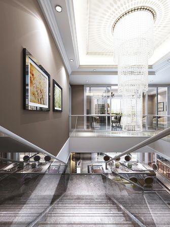 140平米别墅混搭风格楼梯效果图