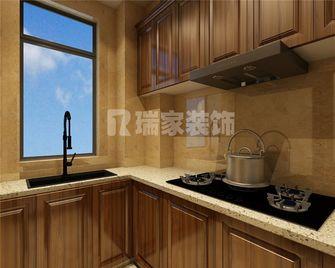 70平米美式风格厨房图片大全