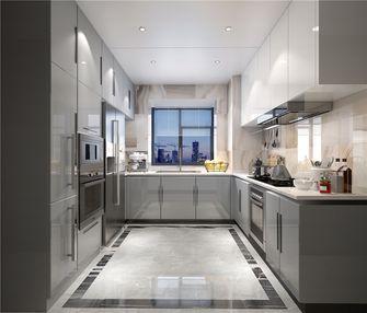 140平米三室三厅新古典风格厨房设计图