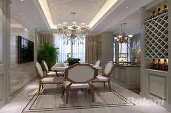 120平米三室两厅欧式风格餐厅图片