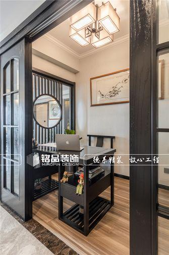 140平米三室两厅中式风格书房装修图片大全