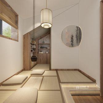 60平米一居室日式风格书房图