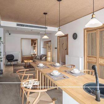 100平米三室两厅日式风格餐厅图片