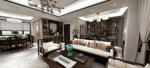 130平米三室两厅中式风格客厅欣赏图
