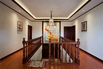 20万以上140平米别墅中式风格楼梯设计图