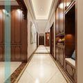 140平米四室四厅中式风格走廊门口装修图片大全