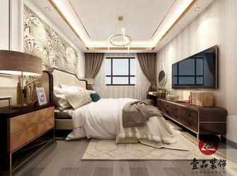 120平米三混搭风格卧室设计图