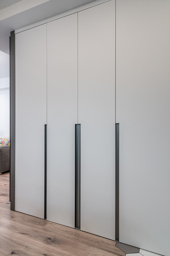 富裕型50平米小户型现代简约风格卫生间装修案例