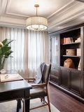 140平米四美式风格书房装修案例