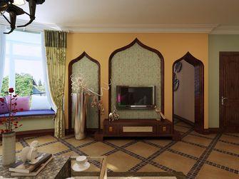 140平米三室两厅东南亚风格客厅欣赏图