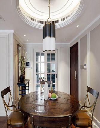 130平米三室一厅混搭风格餐厅装修图片大全