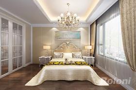 140平米四歐式風格臥室圖