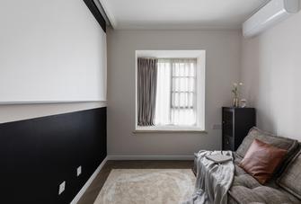 120平米三室一厅北欧风格影音室装修图片大全