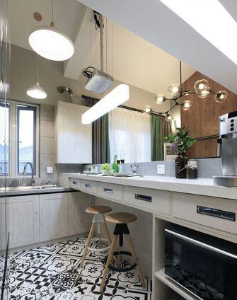 50平米复式田园风格厨房图