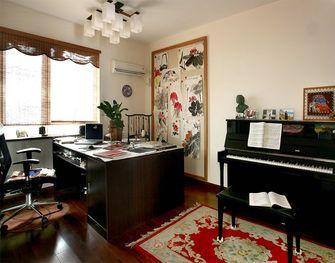 经济型80平米一室一厅东南亚风格书房图