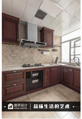 120平米三英伦风格厨房图片