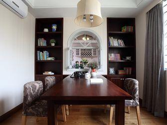 140平米四室一厅田园风格书房装修效果图