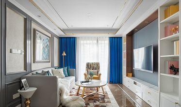 80平米三法式风格客厅装修图片大全
