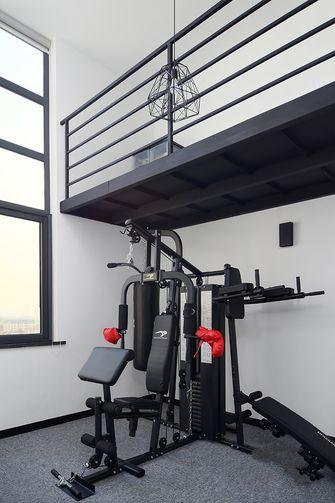 70平米复式北欧风格健身室图片大全