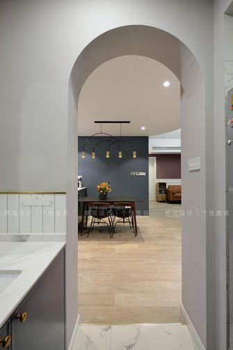 140平米复式北欧风格餐厅装修图片大全