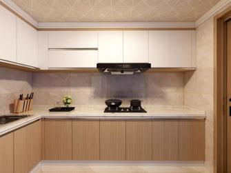 120平米四室一厅中式风格厨房欣赏图