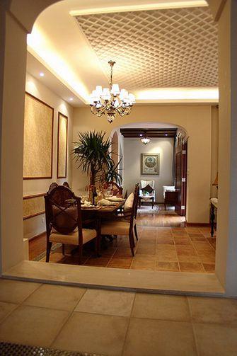 110平米三室两厅东南亚风格走廊装修图片大全