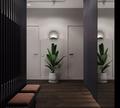 60平米公寓新古典风格走廊图片大全