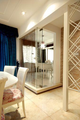 80平米公寓地中海风格餐厅装修图片大全