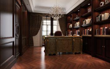 140平米别墅欧式风格书房效果图