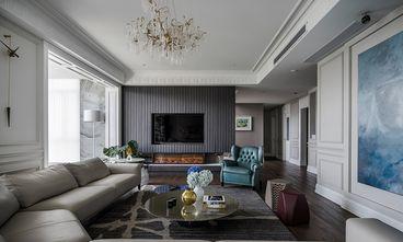 140平米四室四厅混搭风格客厅装修图片大全