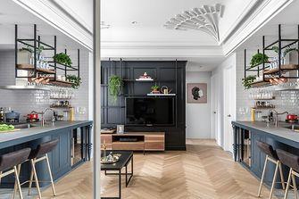 100平米混搭风格客厅效果图