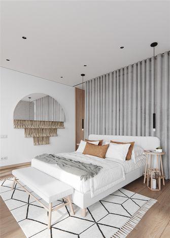 100平米一室两厅北欧风格卧室装修效果图
