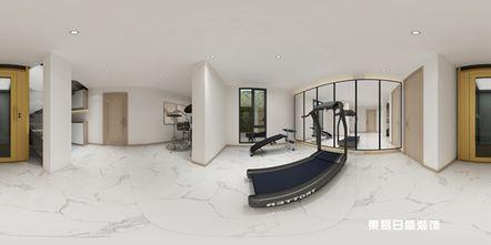140平米四室三厅中式风格阳光房图片