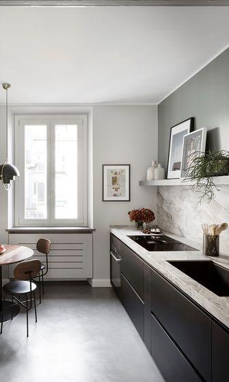 100平米三室一厅北欧风格厨房效果图
