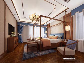 140平米四室三厅中式风格卧室装修图片大全