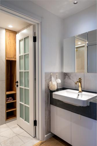 60平米公寓现代简约风格卫生间效果图