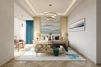 130平米三室两厅新古典风格卧室效果图