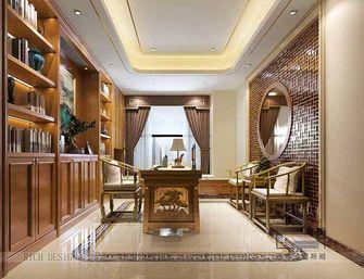 140平米三室一厅中式风格书房装修图片大全