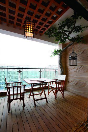 富裕型80平米三室两厅东南亚风格阳光房装修案例