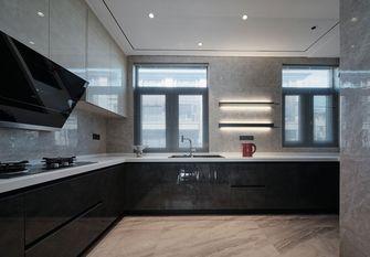 140平米别墅现代简约风格厨房装修案例