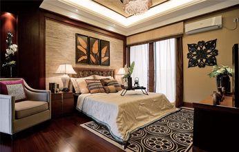 120平米三室两厅东南亚风格卧室图片