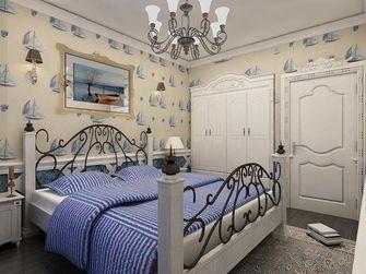 80平米一室两厅地中海风格卧室图