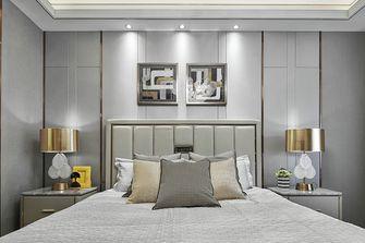 120平米三室两厅英伦风格卧室图片大全